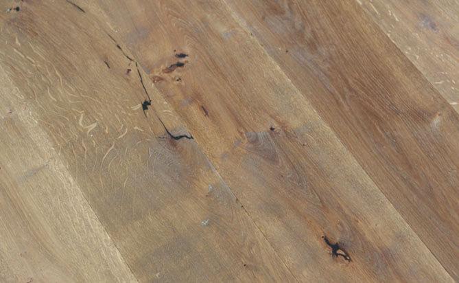 handcraft wide plank oak flooring