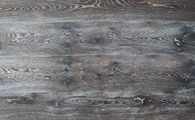 3 layer hand scraped hardwood floor