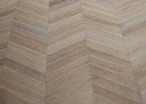 chevron engineered flooring