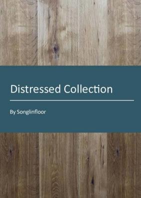 3 layer distressed engineered oak flooring