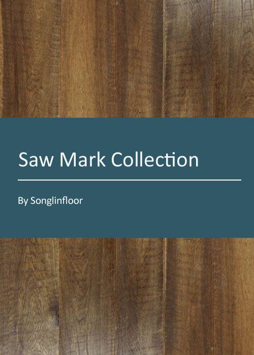 3 layer saw mark engineered oak flooring