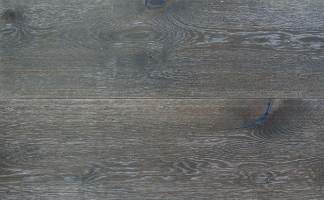 wire brushed white oak flooring