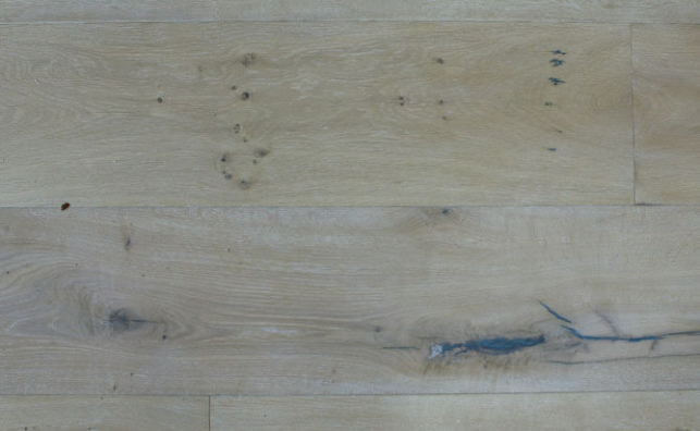 wire scraped hardwood flooring