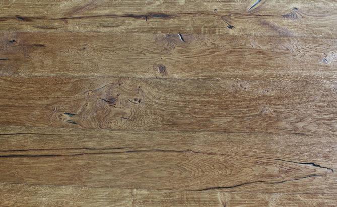 brushed floating hardwood floor