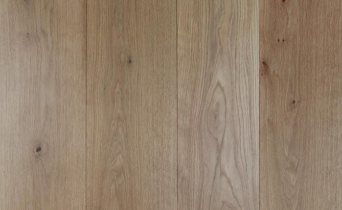 invisible lacquered oak engineered flooring