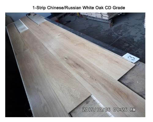 1-Strip White Oak CD Grade