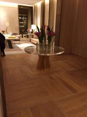 engineered floor project in Brazil