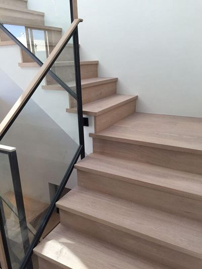 stair case project in America-songlinfloor