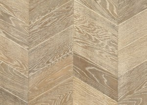 oak chevron flooring
