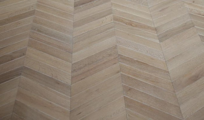 chevron engineered flooring