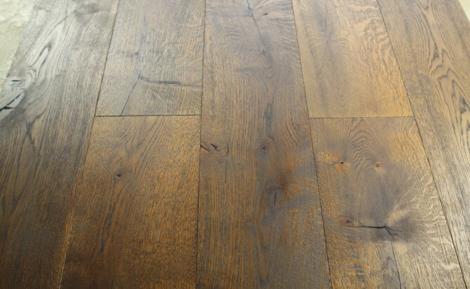 Brushed Antique Oak Flooring K066-2