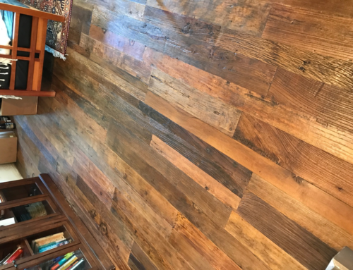 Reclaimed Elm Wooden Floor