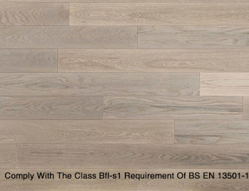 Fireproof Oak Engineered Wooden Flooring