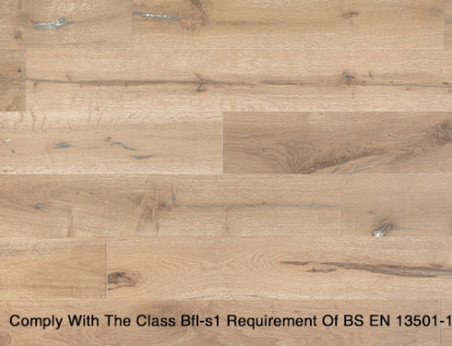 Fire Proof MultiLayer Oak Engineered Wood Flooring