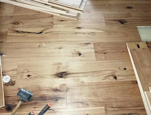 10/2 mm Mulitlayer Hickory Engineered Floor