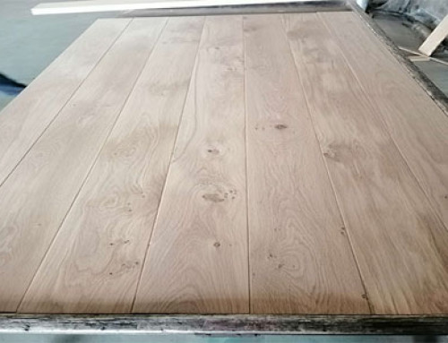 1500-2200mm Length Invisible Solid Oak Floor