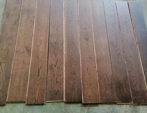 Economic Brushed Engineered Oak Wood Floor