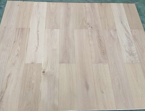 190mm Width Cheap Natural UV Lacquered Engineered Oak Floor Supplier