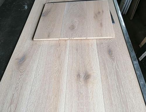 Limewash Colour Natural Grade Wood Floor Production