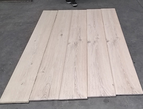 Brushed ABCD Grade Multilayer Engineered Wood Floor