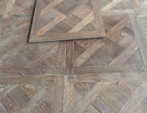 Handwork Reclaim Oak Versailles Wood Floor