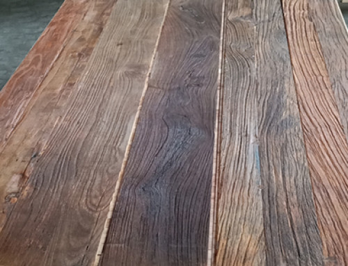 Reclaimed Elm Engineered Wood Flooring