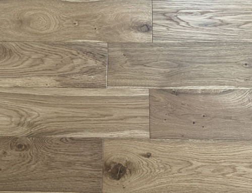Brushed Invisible Lacquer Engineered Wood Flooring