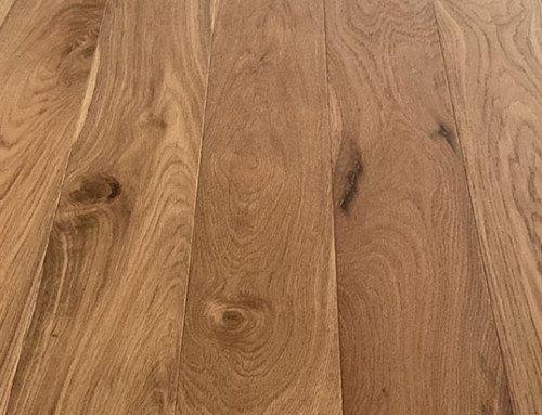 Engineered Wood Flooring Brushed Natural Oiled Oak
